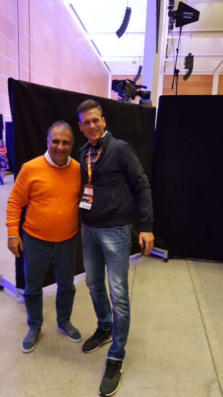 Foto io e Alfio Bardolla