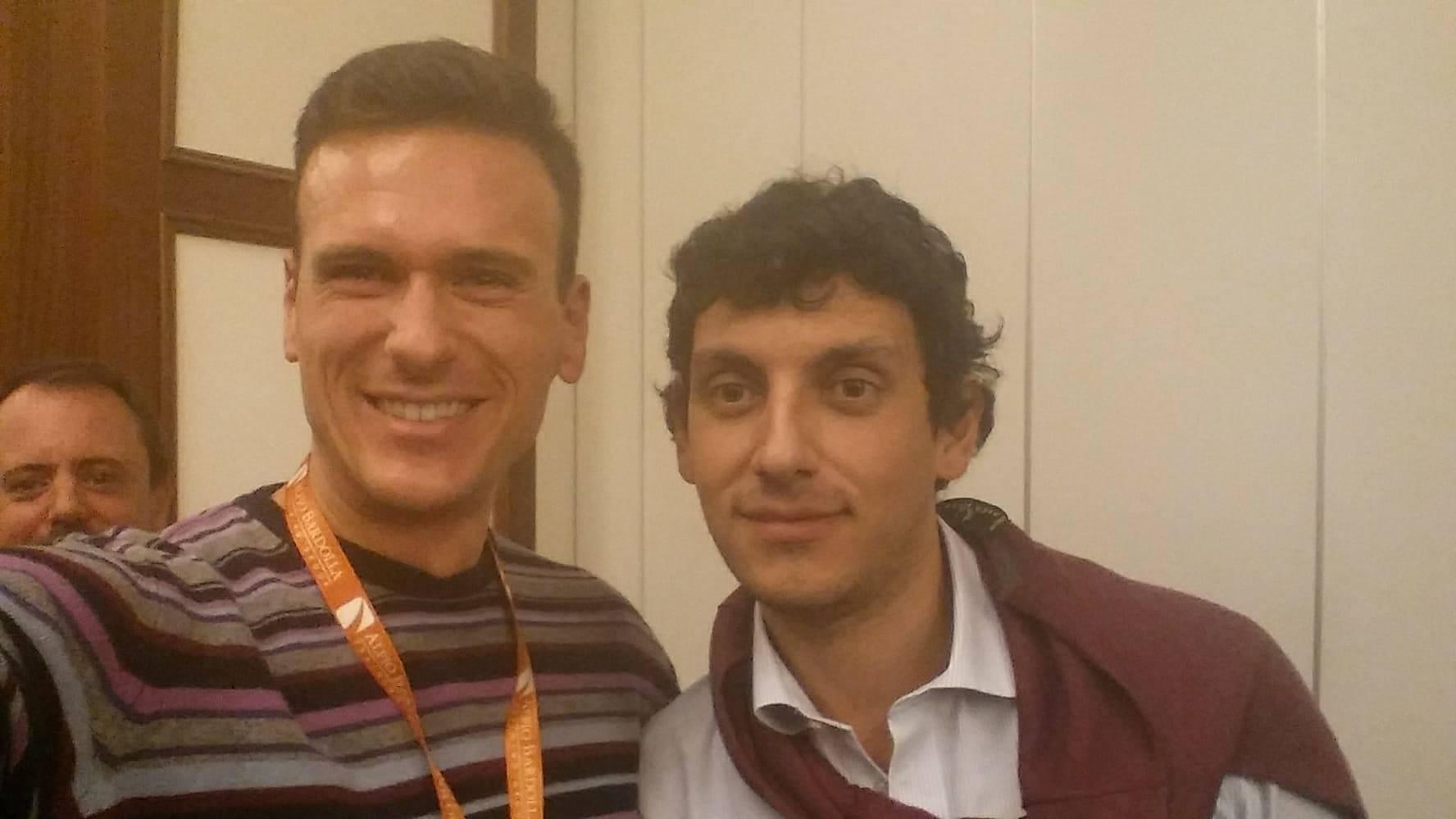 Foto io e Gian Luca Comandini