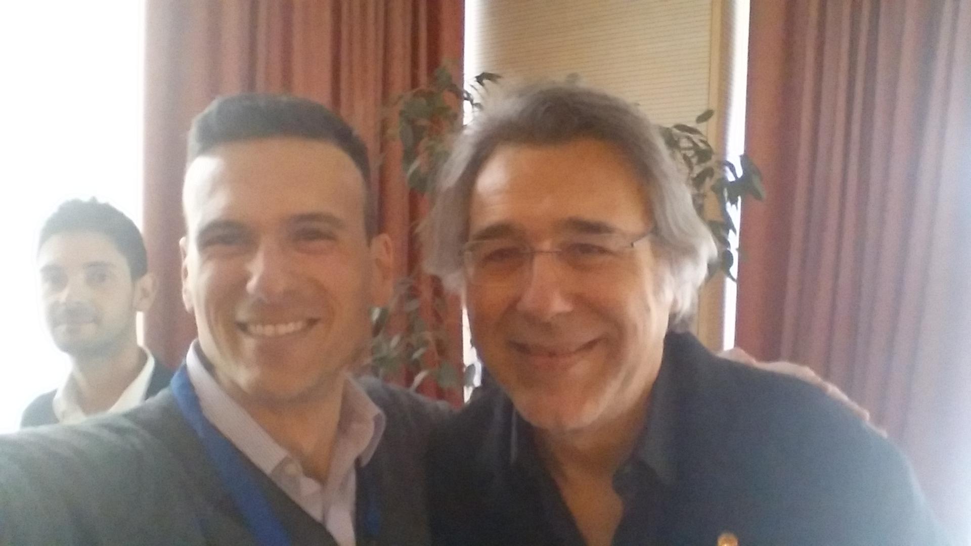 Foto io e Mirco Gasparotto